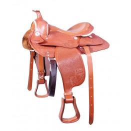 Western sedlo za velike konje in ponije PFIFF