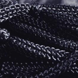 Mreža za seno PFIFF, črna in modra