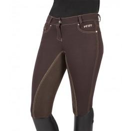 Ženske jahalne hlače KIRA, rjava, 38