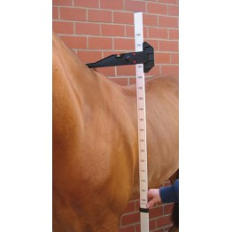 Meter za merjenje višine konja ALU