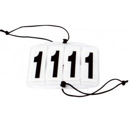 Štartna številka ECKIG, 4- mestna