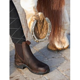 Jahalni čevlji PROTECTION, z jekleno konico za varnost