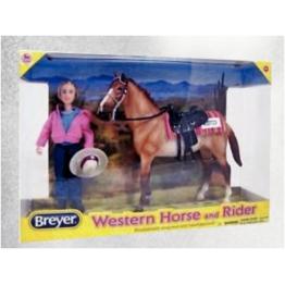 Western jahač in konj